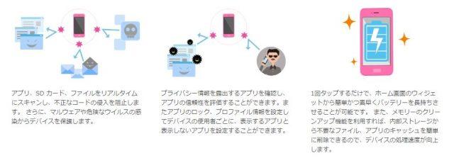 IIJmioプレミアム特典「マーカフィモバイルセキュリティ」